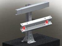 Мостовое ограждение. 11МО–1,1–3,0–300/0,75