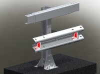 Мостовое ограждение. 11МО–1,3–4,0–350/1,0