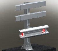 Мостовое ограждение. 11МО–1,5–1,0–600/1,0