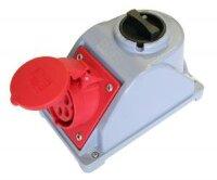 Розетка COMBO-POL с выключателем