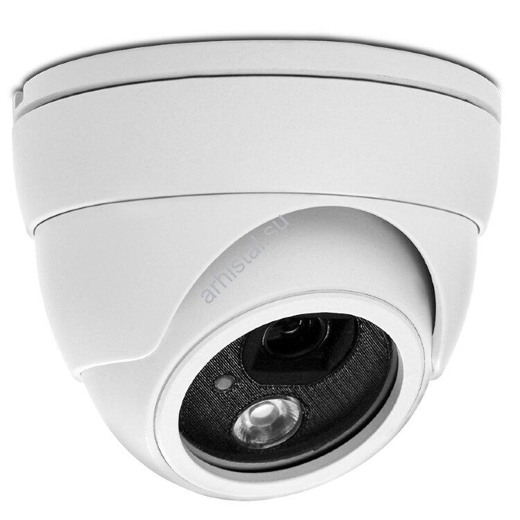 """Купольные IP-видеокамеры AVTech цветные """"день-ночь"""" с ИК-подсветкой AVN320"""
