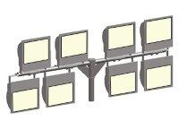 Кронштейн т образный серии 14. П8-0,2-0,95-Ф5