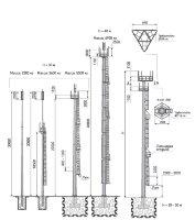 Мачта связи Тип III