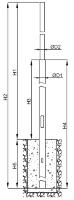 Опоры стальные безфланцевые ОСБФ 7,0-8,5