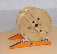 Роликовая подставка для отмотки кабеля 13014