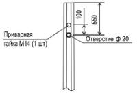 Многогранная силовая опора МС-8Г-1.5