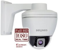 Купольные поворотные PTZ IP камеры Beward B55-3