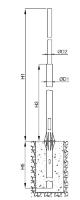 Опоры стальные фланцевые ОСФ 7,5