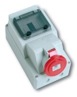 Розетка c  DIN-рейкой для установки автоматов IP44