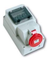 Розетка для установки автоматов с предохранителем IP44