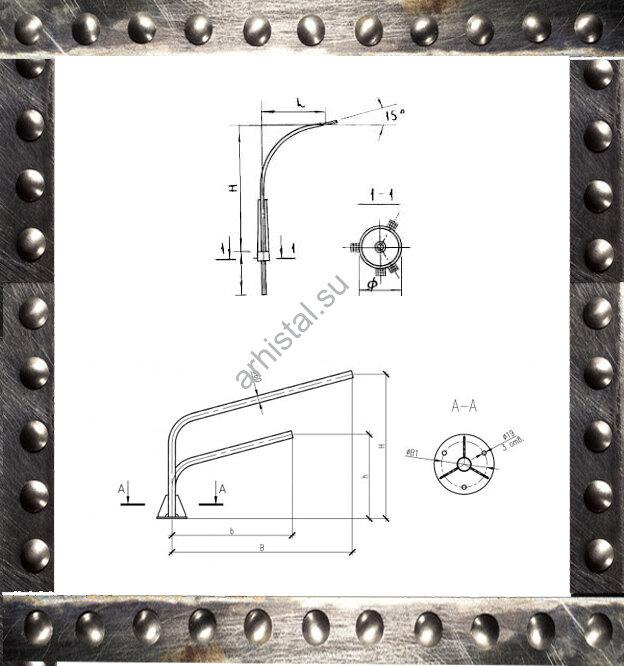 Кронштейны КР1/К1К 1,5-1,5-0,23