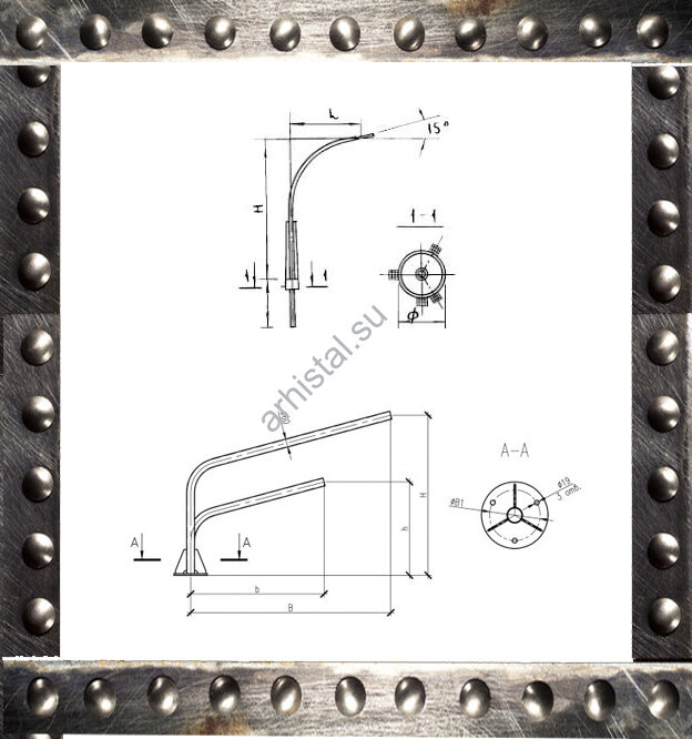 Кронштейны КР1/К1К 2,0-2,0-0,23